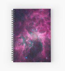 Galaxy universe Spiral Notebook