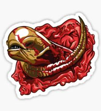 Chestburster Drawing Stickers Redbubble