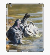 Dude! You'll scare all the chicks! iPad Case/Skin