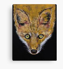 Clever Fox Canvas Print