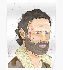 Rick Grimes, The Walking Dead Poster