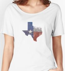 Texas Flag Women's Relaxed Fit T-Shirt
