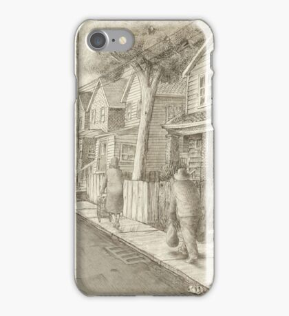 The Night Gardener - Grimloch Lane  iPhone Case/Skin