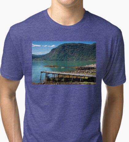 Ornes farm Tri-blend T-Shirt