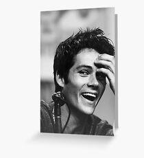 Dylan O´brien  Greeting Card