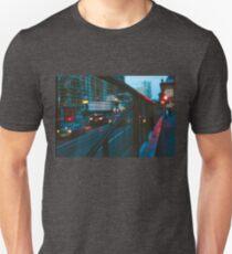 Blurred car lights Unisex T-Shirt
