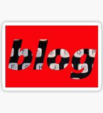 blog background Sticker