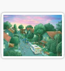 Grimloch Lane - Sunset  Sticker