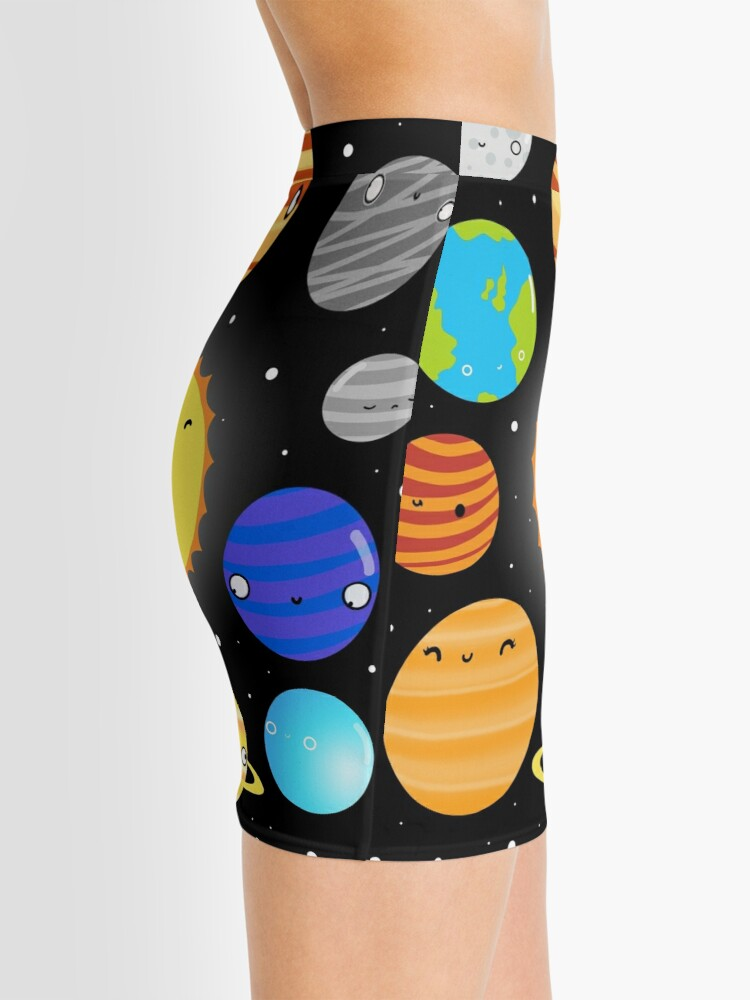 Alternate view of The Solar System Mini Skirt