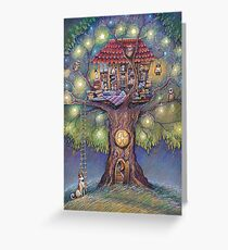 Tree House Greeting Card