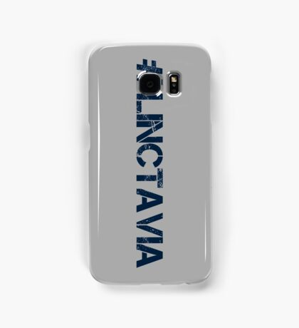#LINCTAVIA (Navy Text) Samsung Galaxy Case/Skin