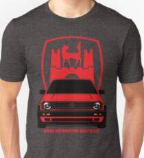 VW Golf GTI MK2 Wolfsburg Red Edition T-Shirt