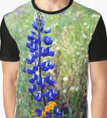 Spike Lupine Graphic T-Shirt