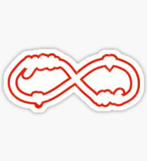 YOU & ME TILL INFINITY red Sticker