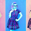 Pretty In Pink & Blue by maliceofalice