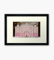 The Grand Budapest Hotel - Wes Anderson Film Framed Print