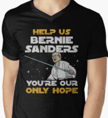 star wars bernie Men's V-Neck T-Shirt