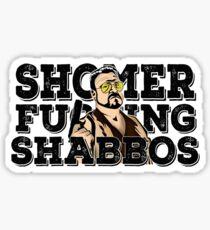Shomer Shabbos- the big lebowski Sticker