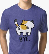 Camiseta de tejido mixto Neko Atsume Sass