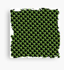 Saint  patricks day abstract background Canvas Print