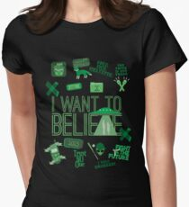 Design in the Key of X Women's Fitted T-Shirt