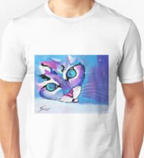 Star Kitten - Animal Art by Valentina Miletic T-Shirt