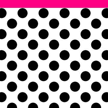 pretty in pink polka dots by fahimahsarebel