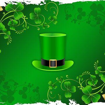 Saint Patricks Day Hat by Mallorys