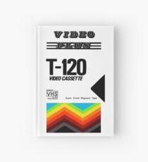 Cuaderno de tapa dura Retro VHS tape vaporwave aesthetic