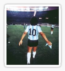 D10S MARADONA Sticker
