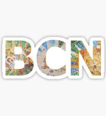 BCN Barcelona Gaudi Sticker