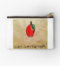 Can I have an apple ? Studio Pouch