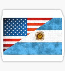 Made In America With Argentinian Parts Sticker