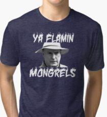 Alf Stewart Flamin Mongrels Tri-blend T-Shirt