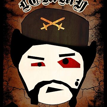 Lemmy Motörhead by losfutbolko