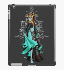 Gaming Princess: Midna (Grey) iPad Case/Skin
