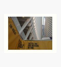 Opening Day of World Trade Center Transit Hub Oculus, Santiago Calatrava, Architect, Lower Manhattan, New York City Art Print