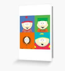 Southpark- The Gang Greeting Card