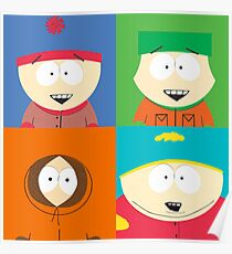 Southpark- The Gang Poster