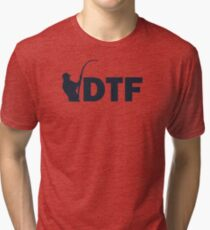 DTF Down To Fish Tri-blend T-Shirt