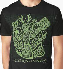 """Cernunnos, """"Der keltische gehörnte Gott"""" Grafik T-Shirt"""