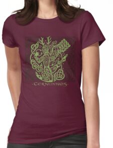 "Cernunnos, ""The Celtic Horned God"" Womens Fitted T-Shirt"
