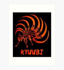 Kyuubi Art Print