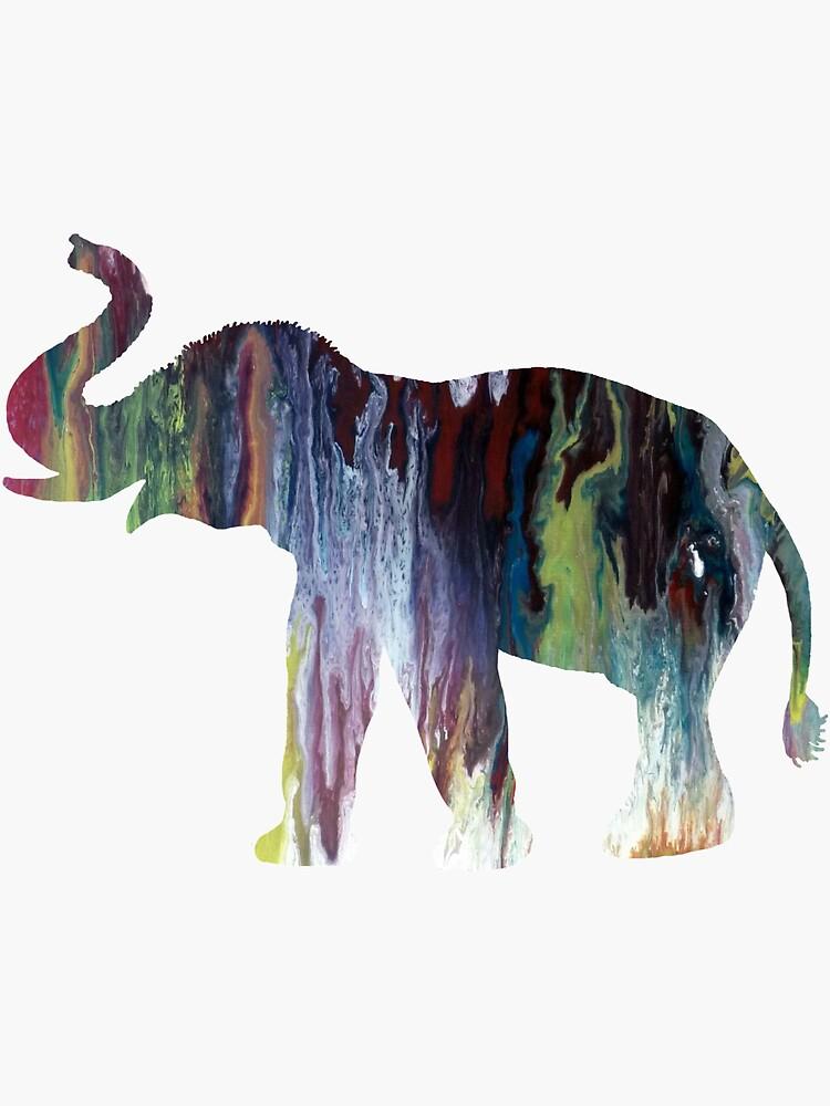 Elephant art by MordaxFurritus