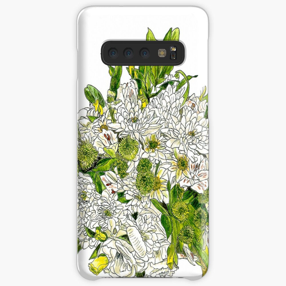 Charlotte's Bouquet Case & Skin for Samsung Galaxy