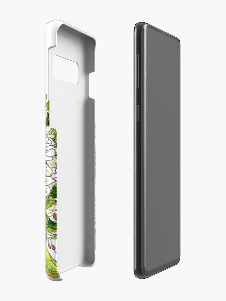 Alternate view of Charlotte's Bouquet Case & Skin for Samsung Galaxy
