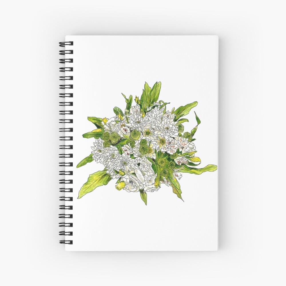 Charlotte's Bouquet Spiral Notebook