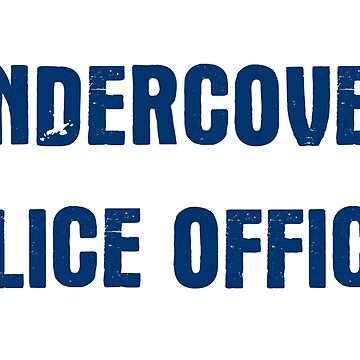 Undercover Police Officer by freestyleINK