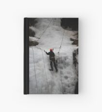 Ice Climber Hardcover Journal