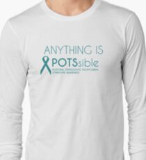 Anything is POTSsible (Dysautomnia Awareness) T-Shirt